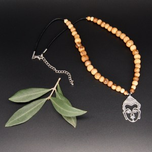 Collier «princesse» Bouddha – Argent 925