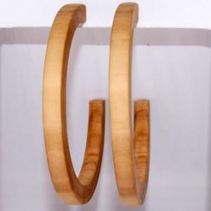 Créoles en Troène – Ø 7.3cm