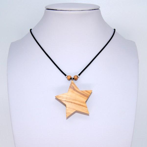 Collier étoile ol