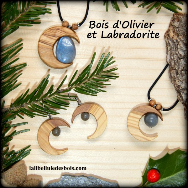 Lunes et Labradorite