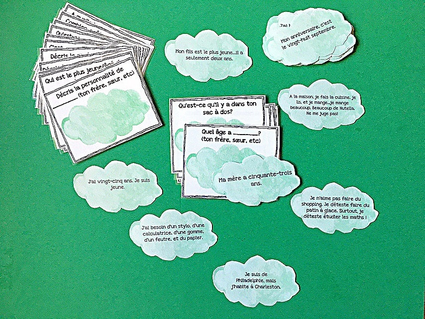 french-1-speaking-activities-task-cards