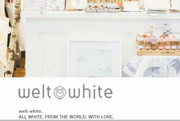 en pleno barrio se encuentra welt white el mundo blanco y es una tienda donde te lo llevaras todo muy buena para inspirarse y sacar ideas