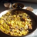 Postal de domingo – Paella valenciana