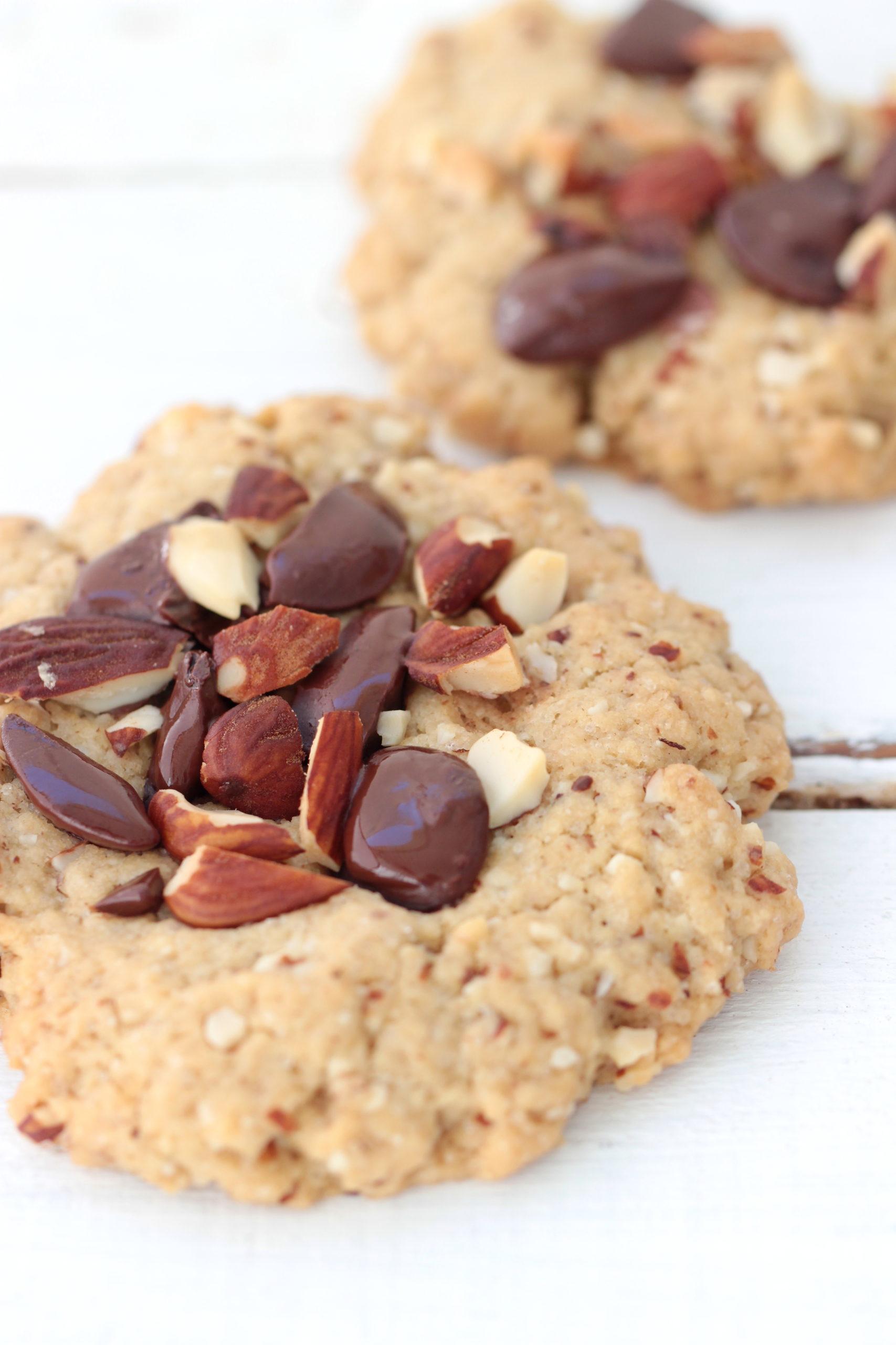 Cookies amande & chocolat