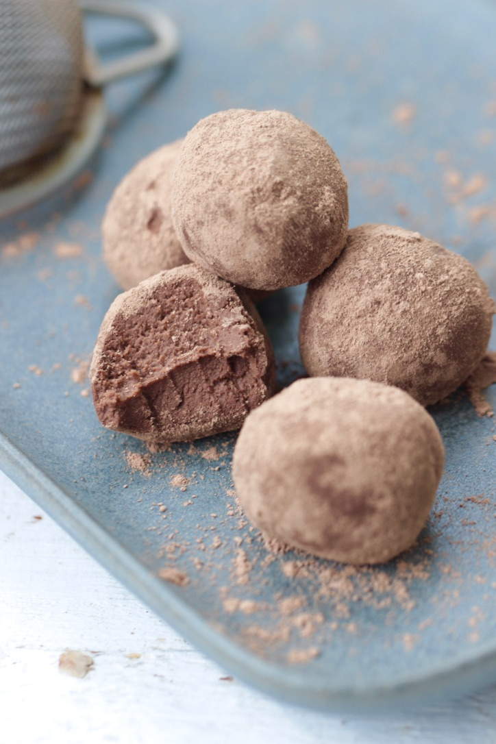 Truffes chocolat courge