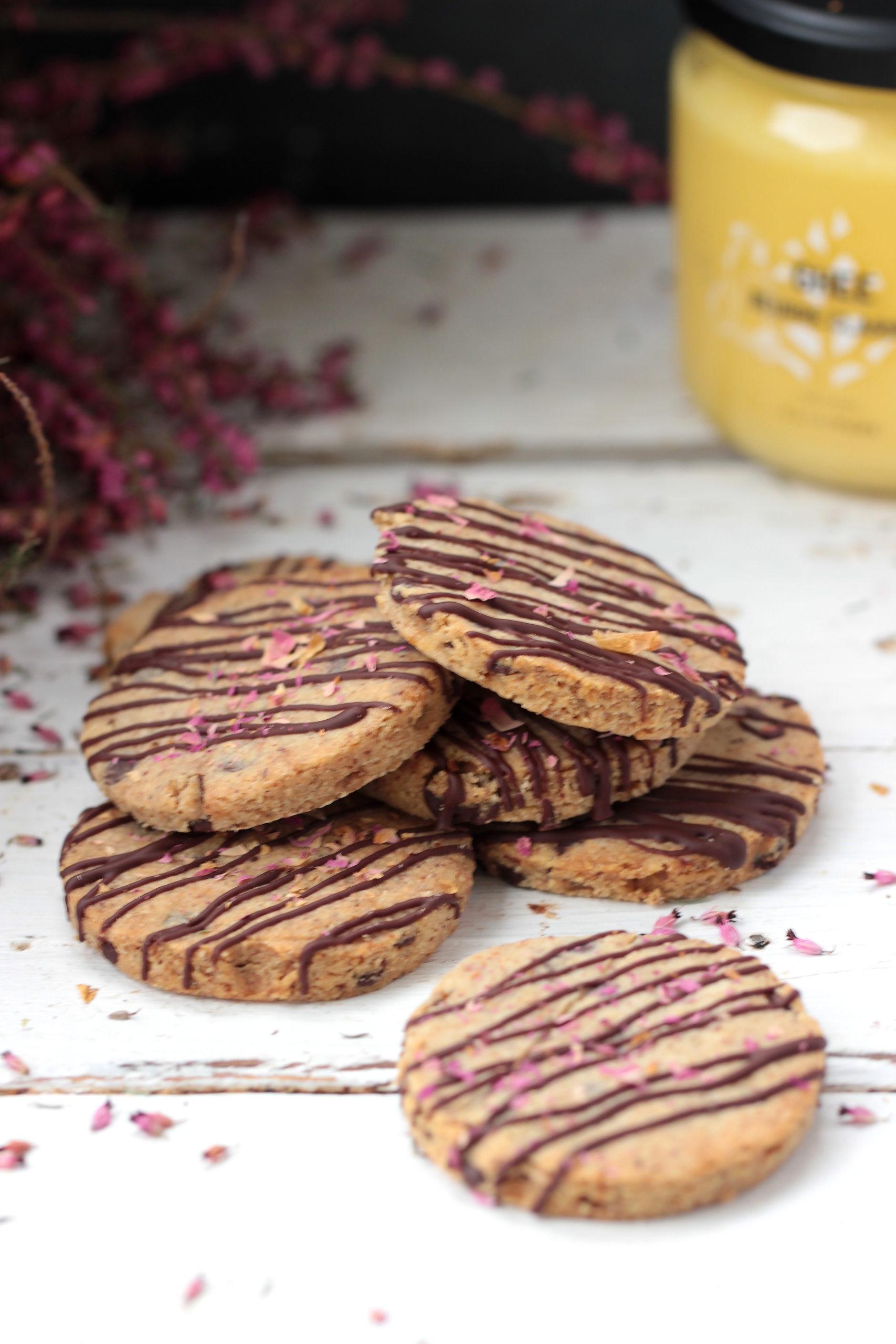 Biscuits aux pépites de chocolat (sans gluten et sans sucre)
