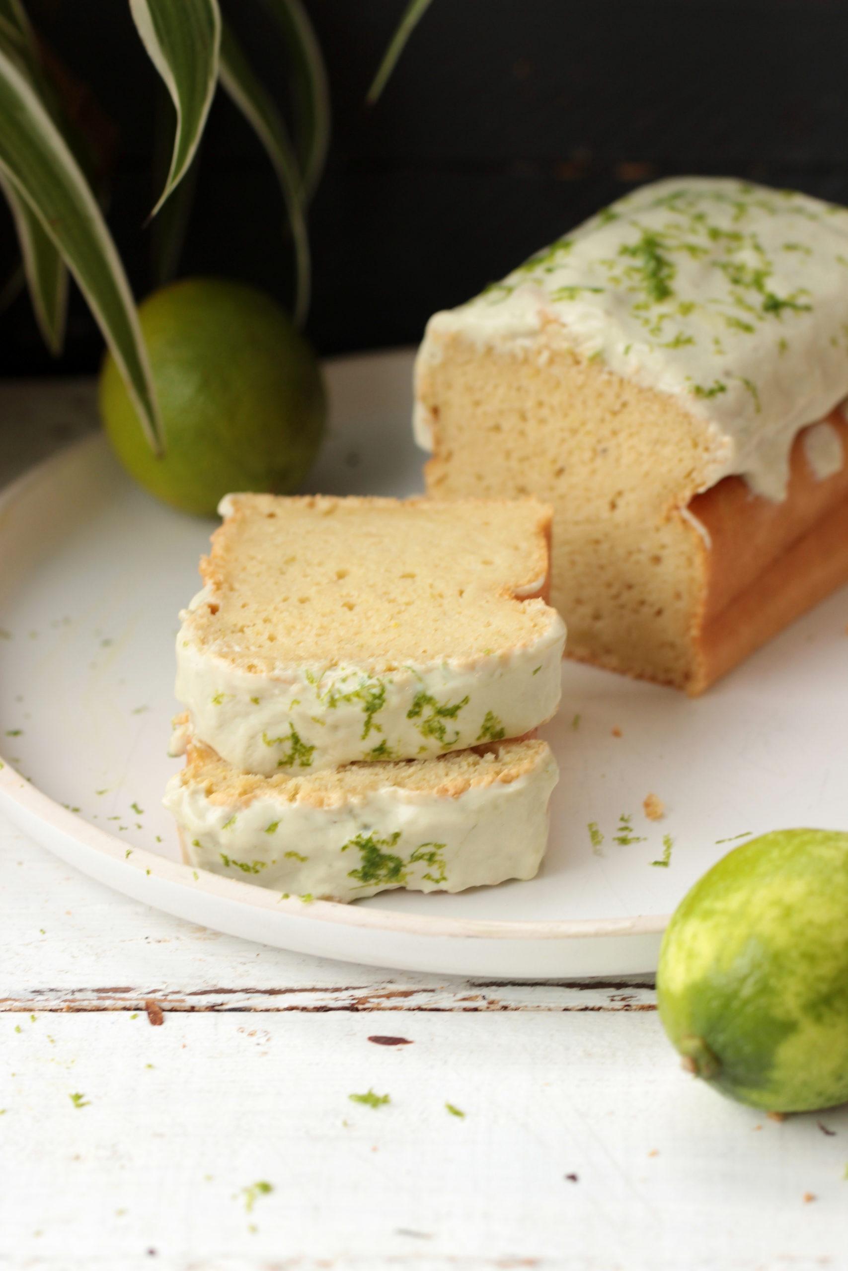 Cake au citron vert léger et hyper moelleux