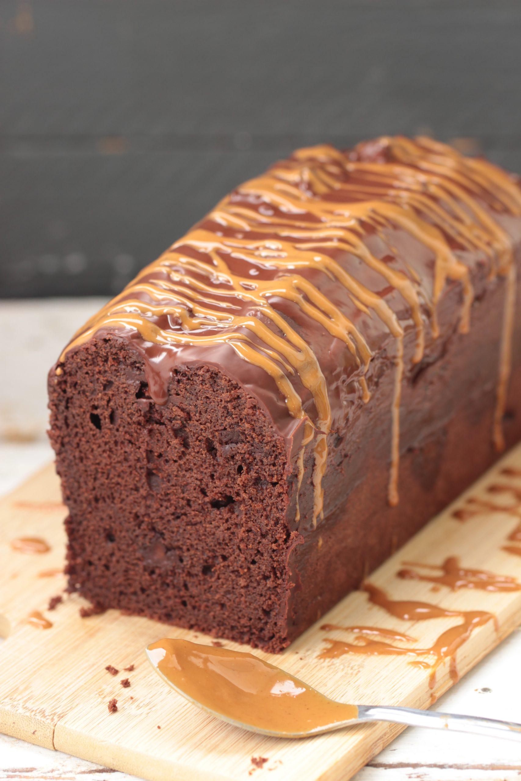 Cake chocolat & beurre de cacahuète au sarrasin