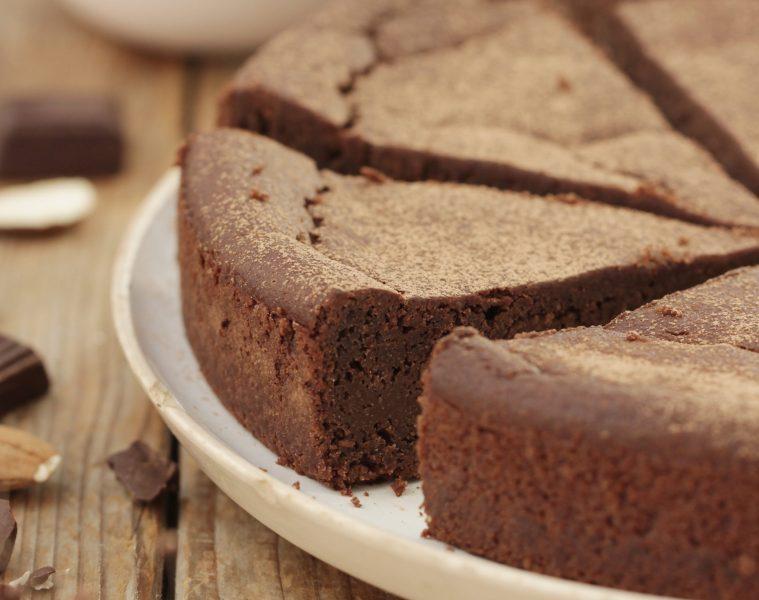 Fondant chocolat amande vegan sans gluten sans sucre