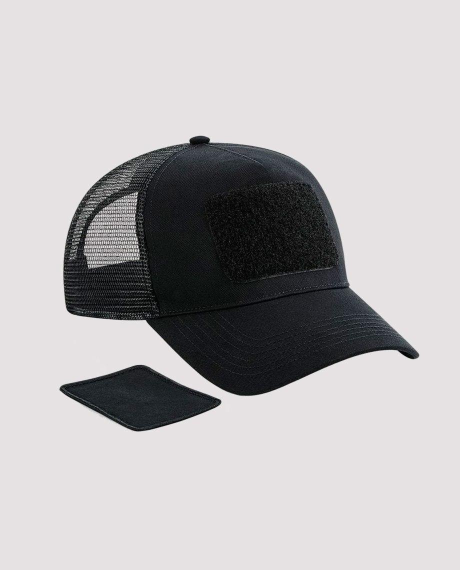 la-ligne-shop-casquette-noir-empiecement-amovible-smiley-phosphorescent-front-2