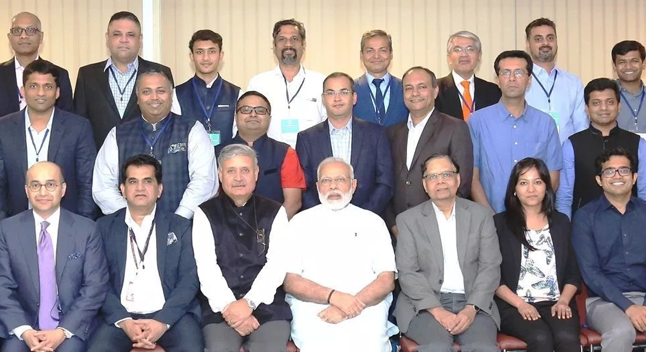 Champion of Change Recognition with Hon'ble Narendra Modi