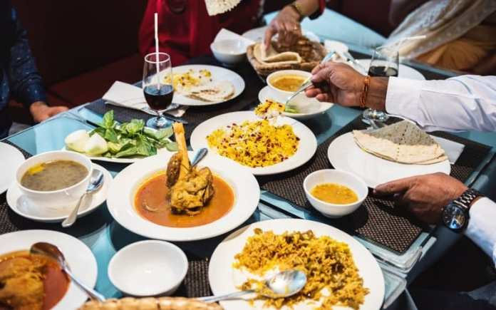 india has a rich food tradition with rice, curries and lentils.