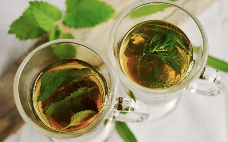 green tea has good antioxidant and anticancer properties
