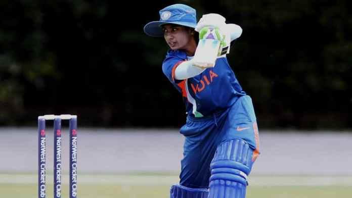 Mitali Raj Indian Women Cricketer Batting