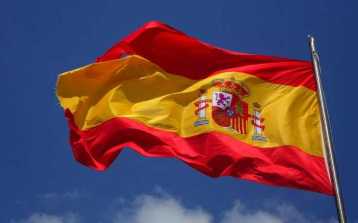 the flag of spain