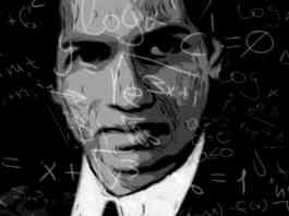 Srinivas Ramanujan, the famous mathematician from India