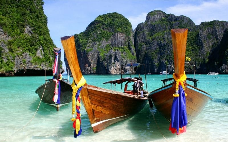 thailand tourism beach