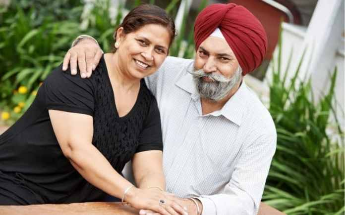married couple sikh