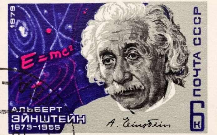 albert einstein stamp ticket
