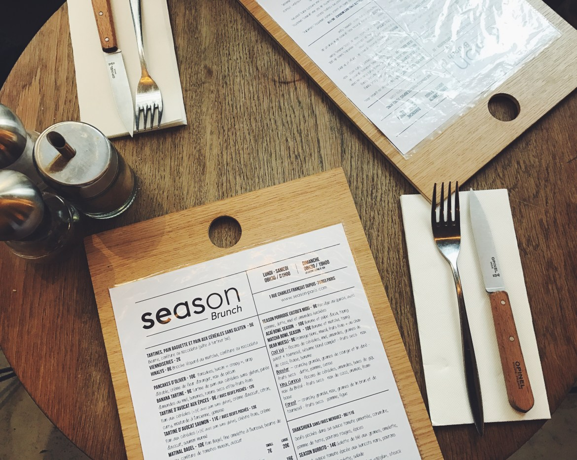 Perfect lunch at the Season, Paris - Lallasmind Belgian Blogger