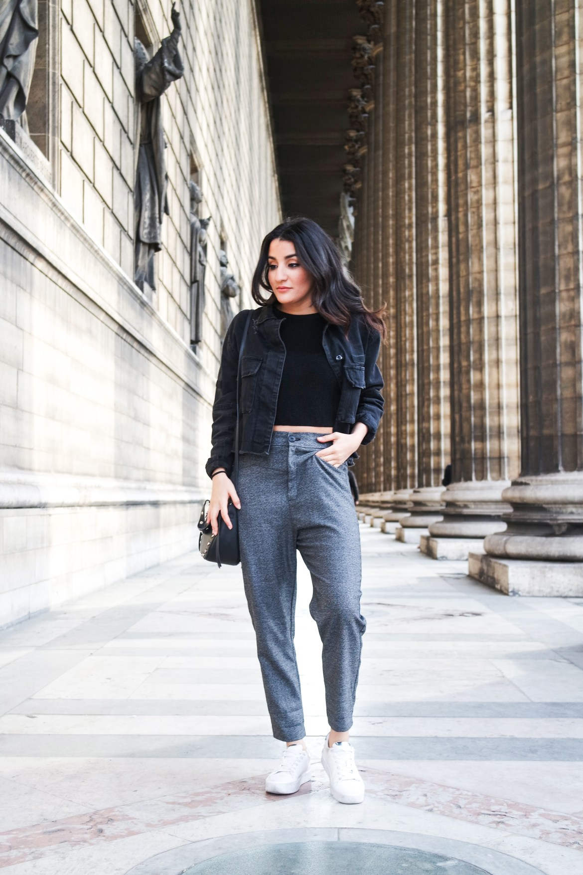 The perfect classic grey pants - Lallasmind Belgian Blogger