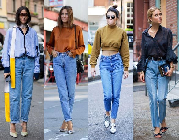 Mom-fit: La nueva tendencia en jeans.