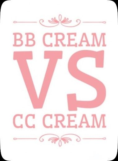 BB cream vs CC cream. Diferencias.