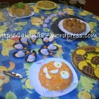Buffet Halloween 2012