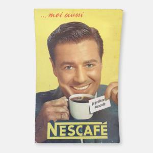 Affiche Nescafé