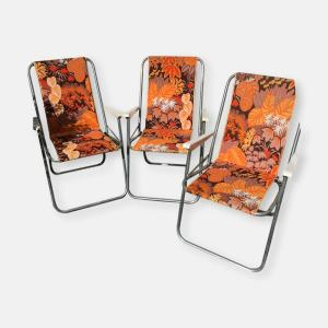 chaises pliables