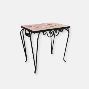 Table vintage catelles