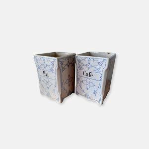 pots anciens en céramique