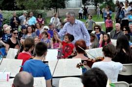 Concert promenade dans les quartiers de Saint-Nazaire (mai 2016)
