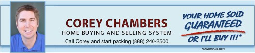 SoCal Home Newsletter Corey Chambers bnr