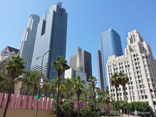 Pershing Square Downtown Los Angeles