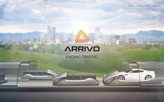 Arrivo hyper loop company comes to Downtown Los Angeles