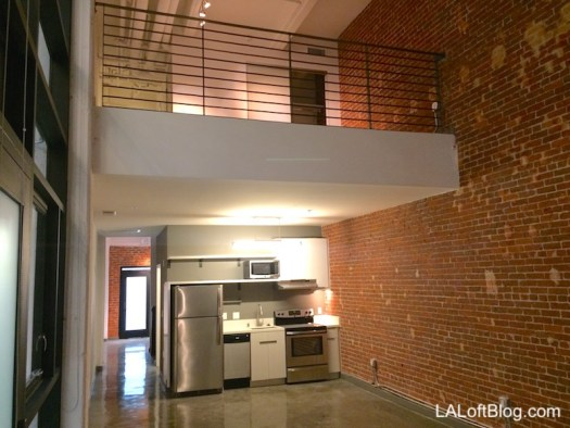 2-Story Lofts with Upstairs Mezzanine Bed Area