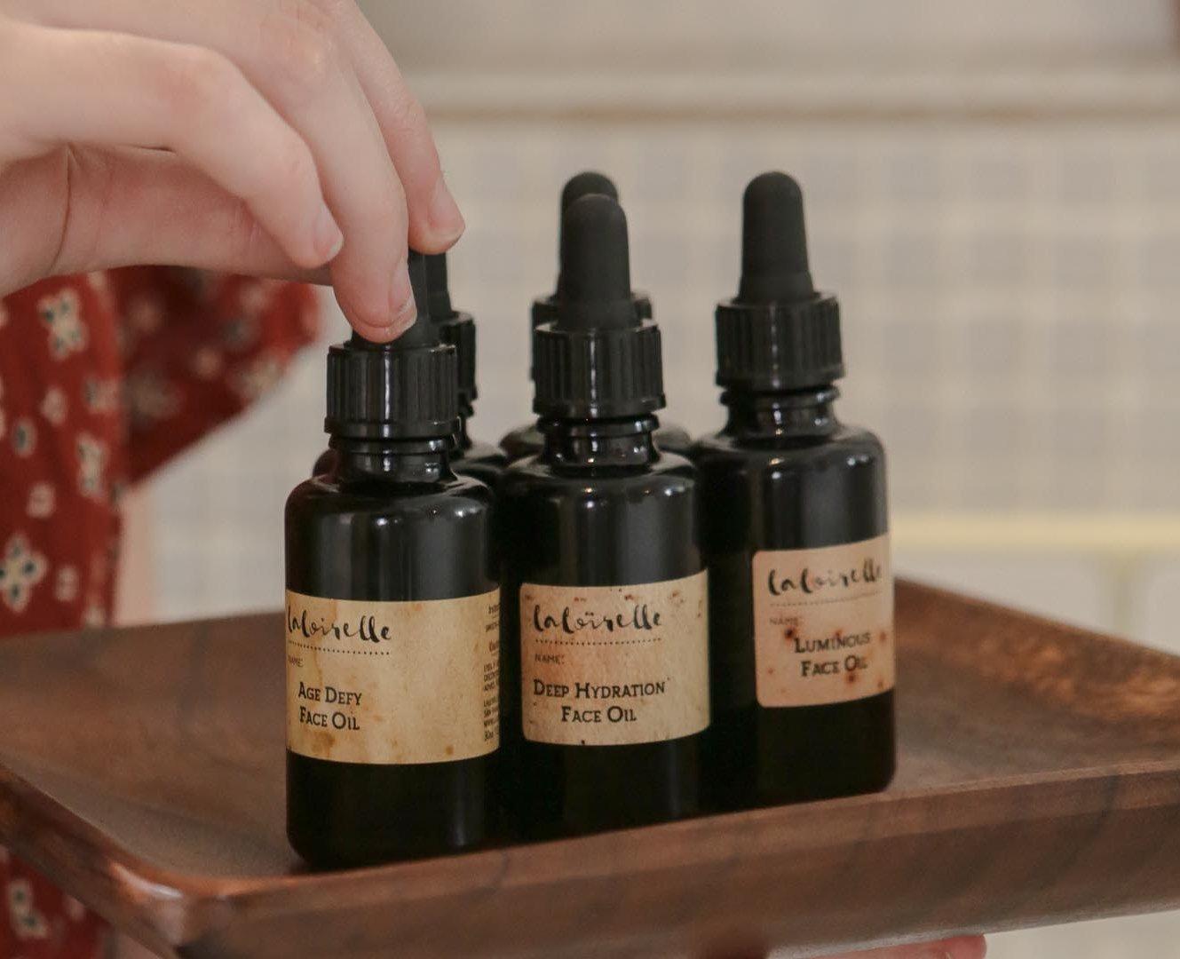Laloirelle face oil natural organic skincare