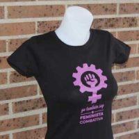 camiseta feminista lalokomotora mujer