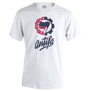 camiseta antifa blanca