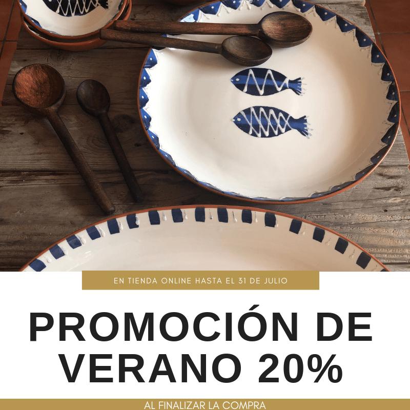 ¡PROMOCIÓN DE VERANO 20%!