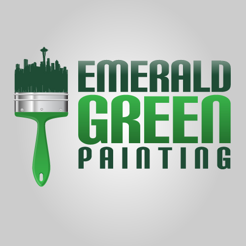 Emerald Green Painting