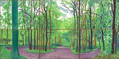 David Hockney The East Yorkshire Landscape