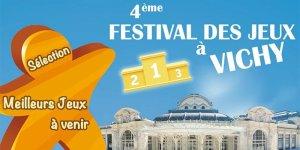 Sélection Jeux Festival de Vichy 2021