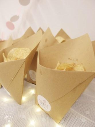 porta patatine per buffet festa di compleanno