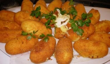crocchette di patate alla mozzarella