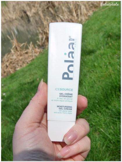 polaar gel crème hydratant Icesource
