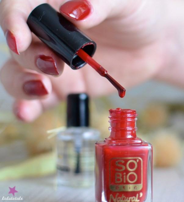 So'Bio Etic vernis Natural' naturel couleur soin biologique