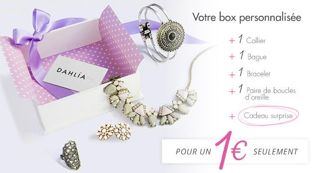 ( DAHLIA BOX ) Une box de bijoux, ça vaut le coup/coût ?