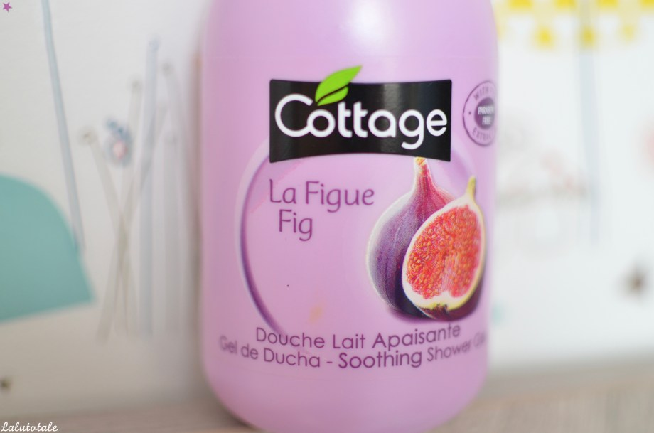 Cottage figue review douche lait